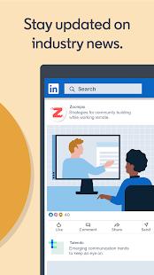 LinkedIn Jobs Business News amp Social Networking v4.1.601 screenshots 7