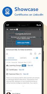 LinkedIn Learning Online Courses to Learn Skills v0.192.3 screenshots 4