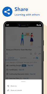 LinkedIn Learning Online Courses to Learn Skills v0.192.3 screenshots 6