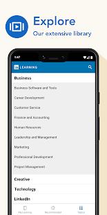 LinkedIn Learning Online Courses to Learn Skills v0.192.3 screenshots 7