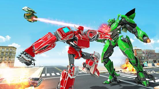 Lion Robot Game Bike Robot War v2.2 screenshots 5