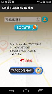 Live Mobile Number Tracker v1.9999 screenshots 2