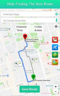 Live Satellite View GPS Map Travel Navigation v6.4 screenshots 1