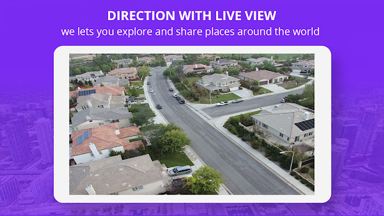 Live Street Map View 2021 – Earth Navigation Maps v2.9 screenshots 2