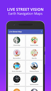Live Street Map View 2021 – Earth Navigation Maps v2.9 screenshots 3
