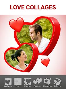Love Collage Maker – Photo Editor amp Heart Frames v2.4.8.36 screenshots 1