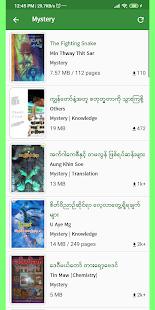 MM Bookshelf – Myanmar ebook and daily news v1.4.7 screenshots 2