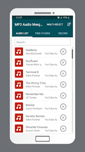 MP3 Audio Merger and Joiner v4.9 screenshots 1