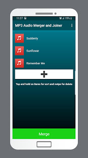 MP3 Audio Merger and Joiner v4.9 screenshots 2