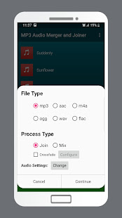 MP3 Audio Merger and Joiner v4.9 screenshots 3