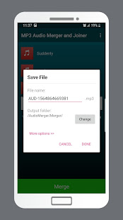 MP3 Audio Merger and Joiner v4.9 screenshots 4