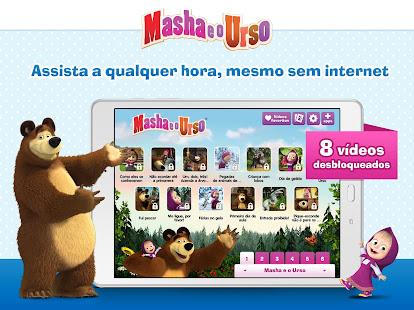 Masha e o Urso v3.9.2 screenshots 10