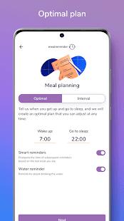 Meal Reminder – Weight Loss v2.2.0 screenshots 5
