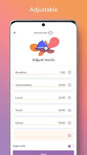 Meal Reminder – Weight Loss v2.2.0 screenshots 7