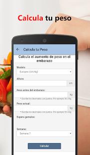 Men para Embarazadas Diario v18.0.0 screenshots 11
