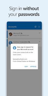 Microsoft Authenticator v6.2107.5010 screenshots 1