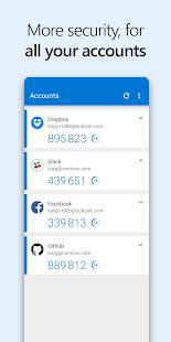 Microsoft Authenticator v6.2107.5010 screenshots 4