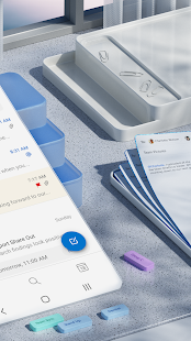 Microsoft Outlook Secure email calendars amp files v4.2129.1 screenshots 2
