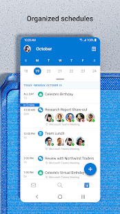 Microsoft Outlook Secure email calendars amp files v4.2129.1 screenshots 3