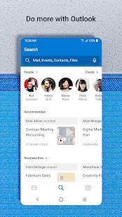 Microsoft Outlook Secure email calendars amp files v4.2129.1 screenshots 4