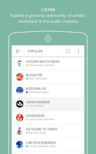 Mixlr – Broadcast Live Audio v1.4.1 screenshots 4