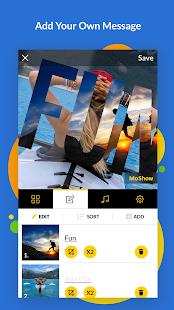 MoShow – Slideshow Maker Photo amp Video Editor v2.7.1.1 screenshots 2