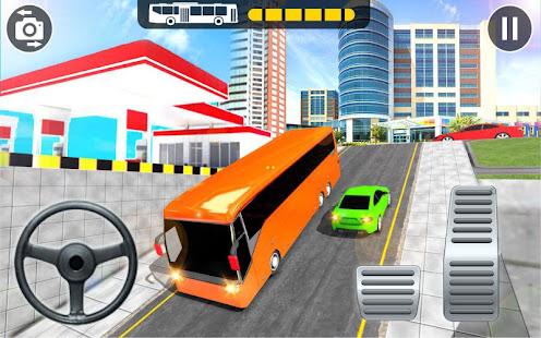Modern Bus Parking Adventure Advance Bus Games v1.1.4 screenshots 2