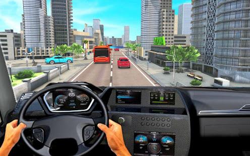 Modern Bus Parking Adventure Advance Bus Games v1.1.4 screenshots 4