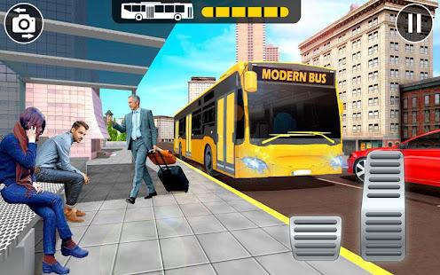 Modern Bus Parking Adventure Advance Bus Games v1.1.4 screenshots 8