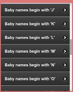 Muslim Child Names A-Z v1.0 screenshots 10