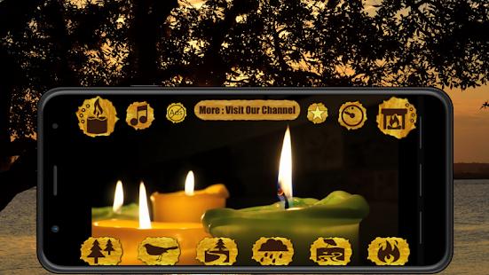 NIGHT CANDLE – GUIDED MEDITATION SLEEP v83 screenshots 5