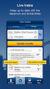 National Rail Enquiries v9.6.0 screenshots 1