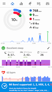 Notify for Mi Band Your privacy first v13.2.6 screenshots 1