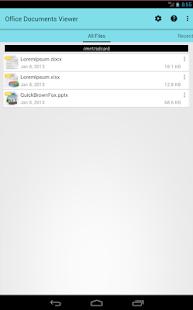 Office Documents Viewer v1.31.2 screenshots 3
