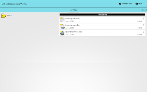 Office Documents Viewer v1.31.2 screenshots 5
