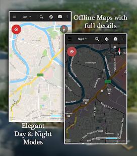 Offline Map Navigation – GPS Driving Route v1.3.9.5 screenshots 1
