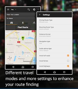 Offline Map Navigation – GPS Driving Route v1.3.9.5 screenshots 10