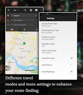 Offline Map Navigation – GPS Driving Route v1.3.9.5 screenshots 3