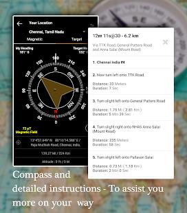 Offline Map Navigation – GPS Driving Route v1.3.9.5 screenshots 5