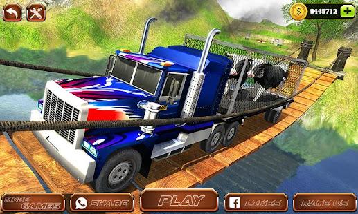 Offroad Farm Animal Truck Driving Game 2020 v1.9 screenshots 1