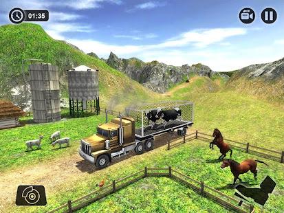 Offroad Farm Animal Truck Driving Game 2020 v1.9 screenshots 10