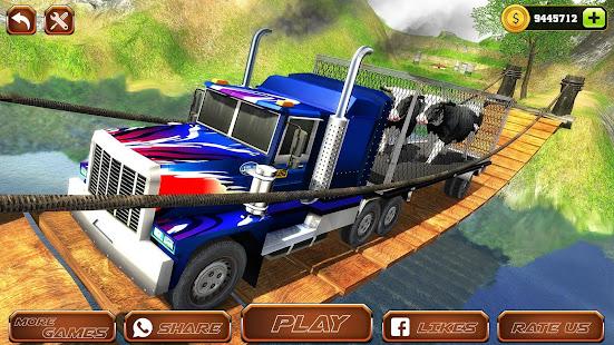 Offroad Farm Animal Truck Driving Game 2020 v1.9 screenshots 11