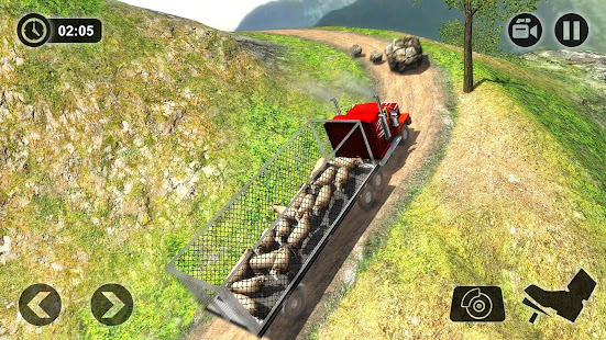 Offroad Farm Animal Truck Driving Game 2020 v1.9 screenshots 12