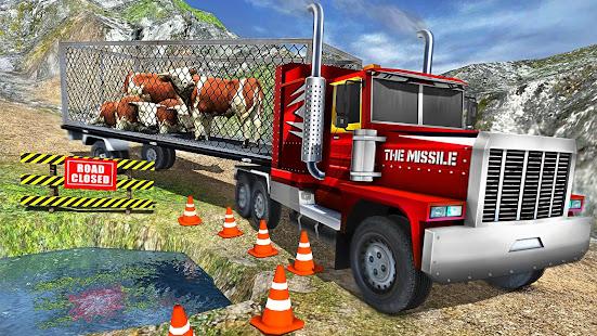 Offroad Farm Animal Truck Driving Game 2020 v1.9 screenshots 13