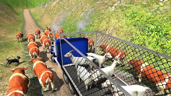 Offroad Farm Animal Truck Driving Game 2020 v1.9 screenshots 14