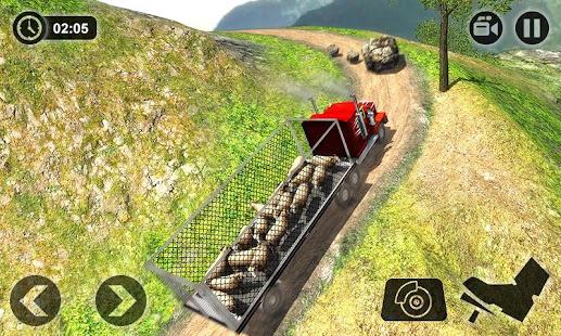 Offroad Farm Animal Truck Driving Game 2020 v1.9 screenshots 2