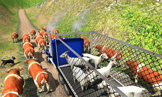 Offroad Farm Animal Truck Driving Game 2020 v1.9 screenshots 4