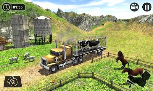 Offroad Farm Animal Truck Driving Game 2020 v1.9 screenshots 5