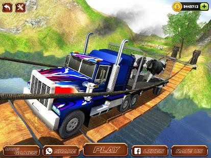 Offroad Farm Animal Truck Driving Game 2020 v1.9 screenshots 6