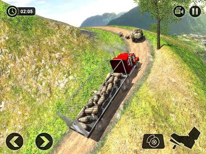 Offroad Farm Animal Truck Driving Game 2020 v1.9 screenshots 7